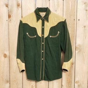 Rare Vintage California Ranchwear Western Shirt